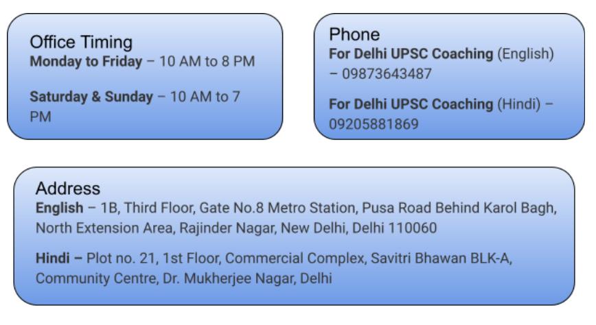 Top Coaching for UPSC Exam in Delhi