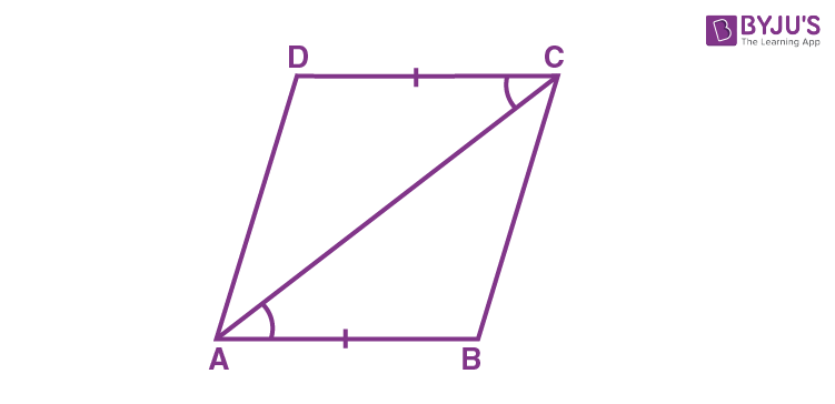 Another Condition for a Quadrilateral to be a Parallelogram - 1
