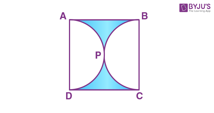 Areas of Combinations of Plane Figures Example 3