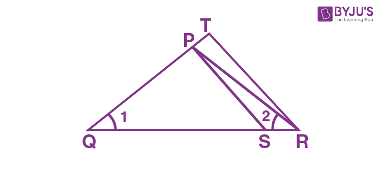 Criteria for Similarity of Triangles Example 4