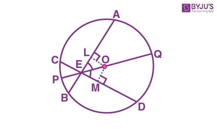 Equal Chords and Their Distances from the Centre - Example