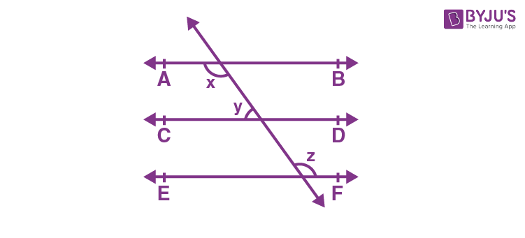 Lines Parallel to the Same Line -2