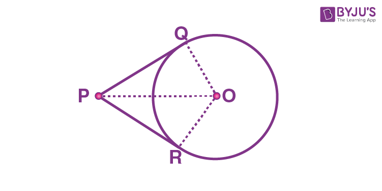 Number of Tangents from a Point on a Circle - Theorem 2
