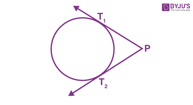 Number of Tangents from a Point on a Circle - Two Tangents