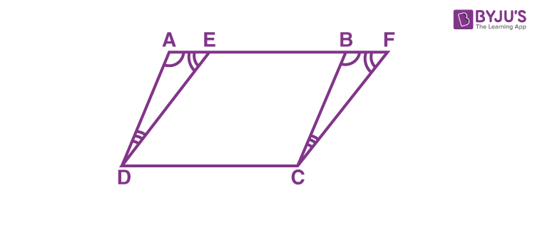 Parallelograms on the same Base and between the same Parallels  -1