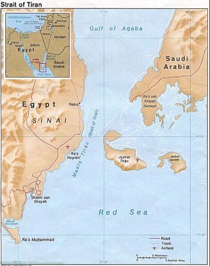 Egypt in Map