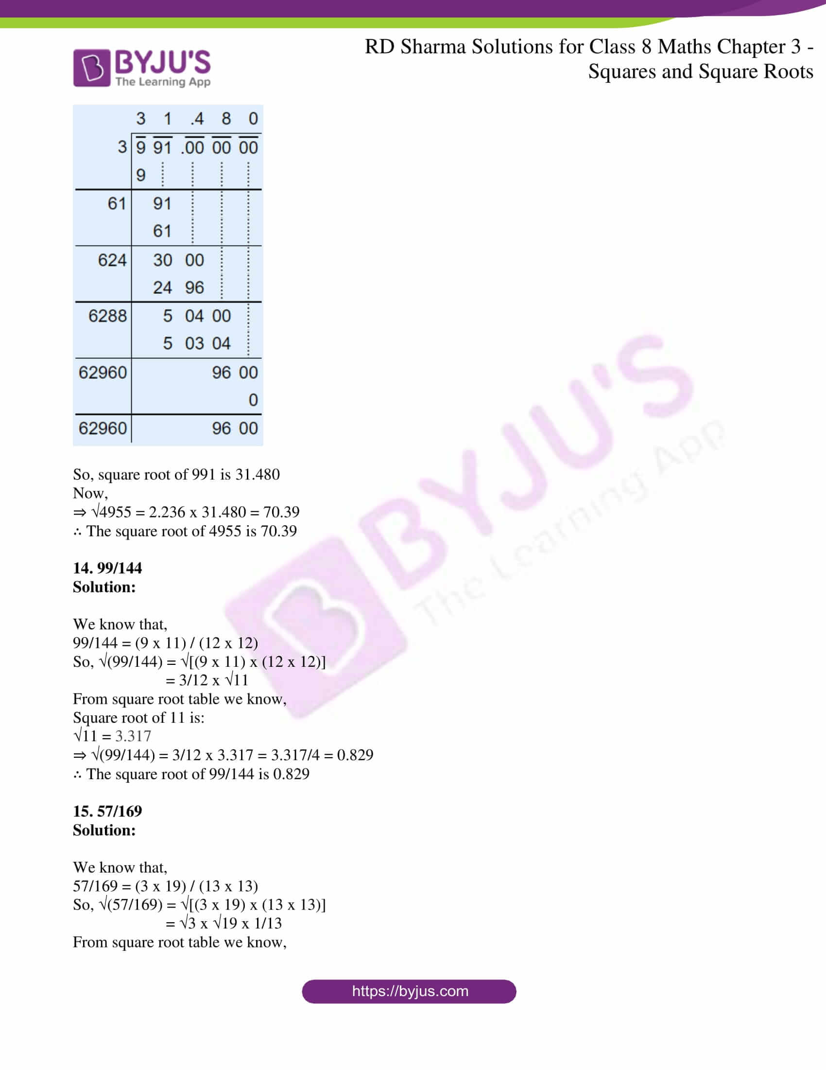 rd sharma solutions jul26 class 8 maths chapter 3 squares and square roots exercise 3 9 6