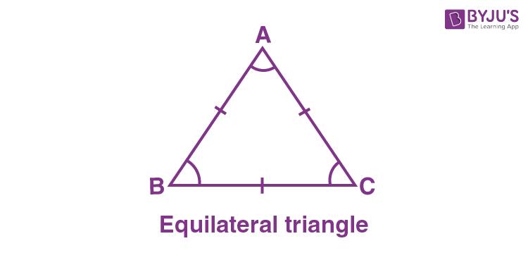 Regular polygon - equilatareal triangle