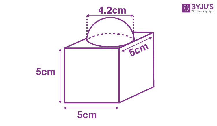 Surface Area of a Combination of Solids Example 1