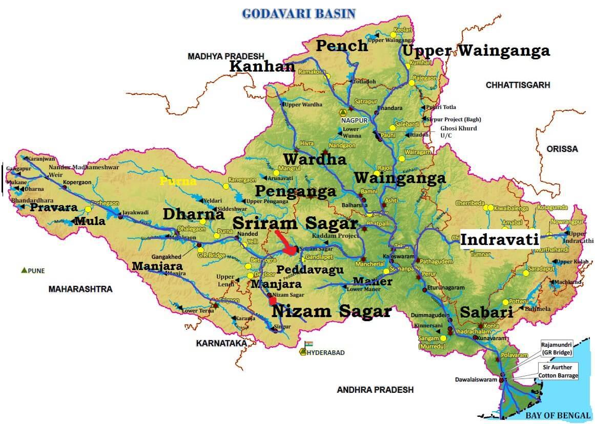 Godavari River Basin