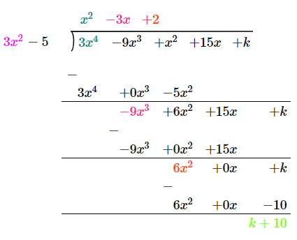 Important Questions Class 10 Maths Chapter 2 Polynomials 13A