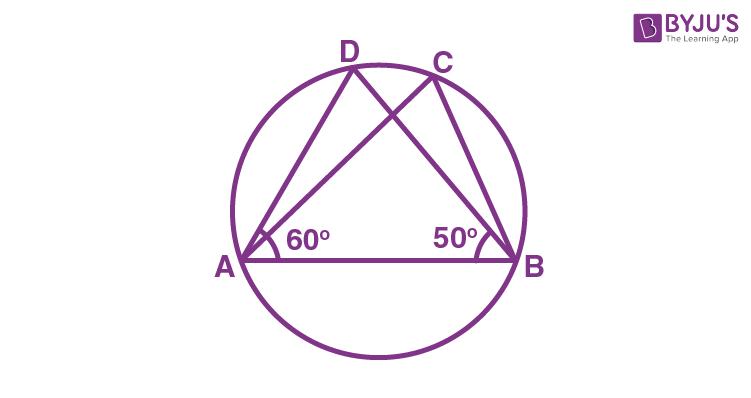 Class 9 Maths Chapter 10 Circles MCQs Example 17