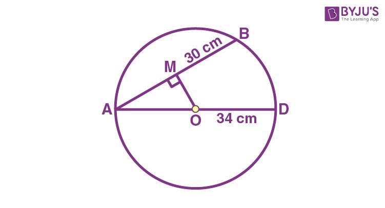 Class 9 Maths Chapter 10 Circles MCQs Example 20