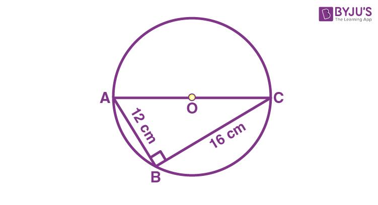 Class 9 Maths Chapter 10 Circles MCQs Example 19