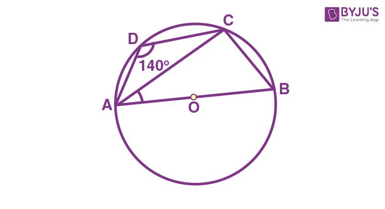 Class 9 Maths Chapter 10 Circles MCQs Example 12
