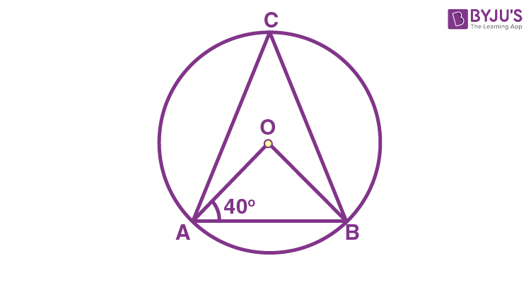 Class 9 Maths Chapter 10 Circles MCQs Example 13