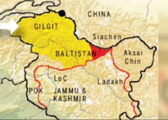 Gilgit-Baltistan Map