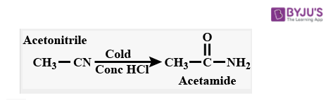 Reaction with Concentrated HCl