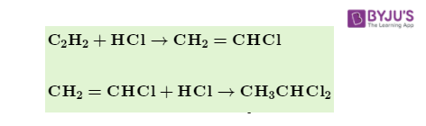 Reaction with HCl