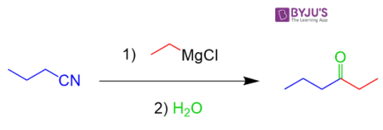 Reaction with phenylmagnesium bromide
