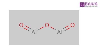 Aluminium oxide structure