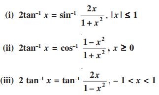 Inverse Trigonometric Functions For Class 12 properties 6
