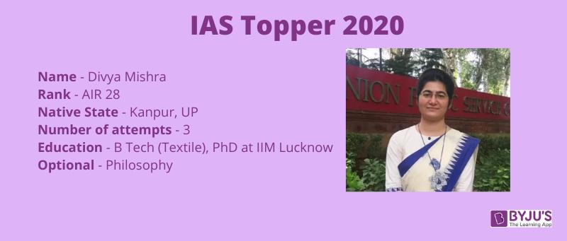 IAS Topper 2020 AIR 28