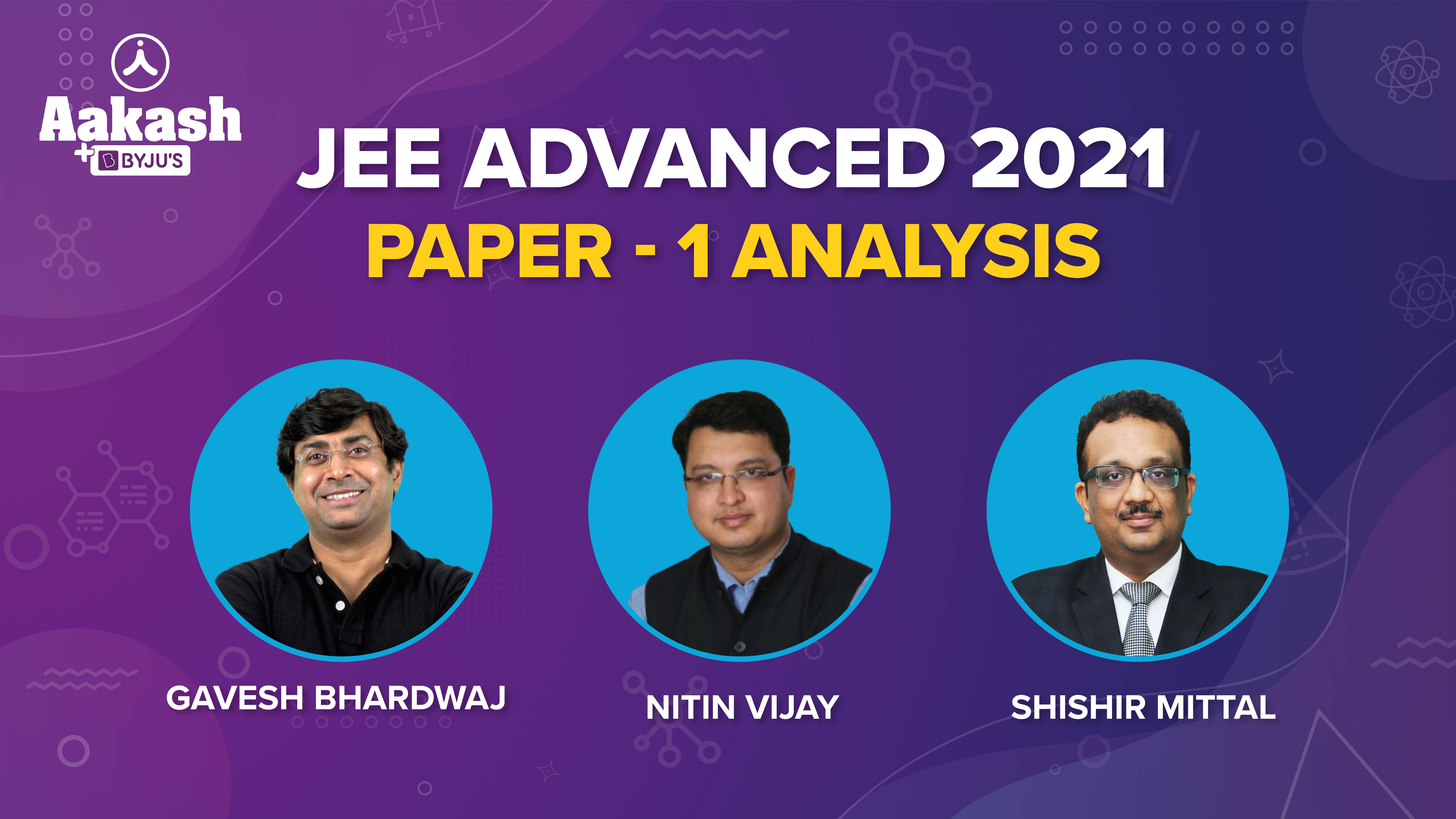 JEE Advanced 2021 Paper 1 Analysis