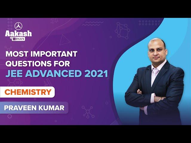 JEE Advanced 2021 Quiz Chemistry BYJUS