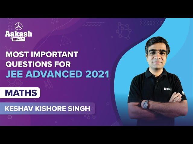 JEE Advanced 2021 Quiz Maths BYJUS