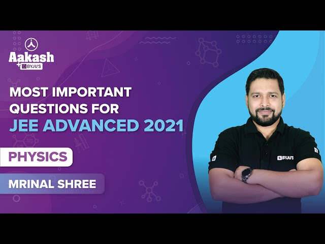 JEE Advanced 2021 Quiz Physics BYJUS