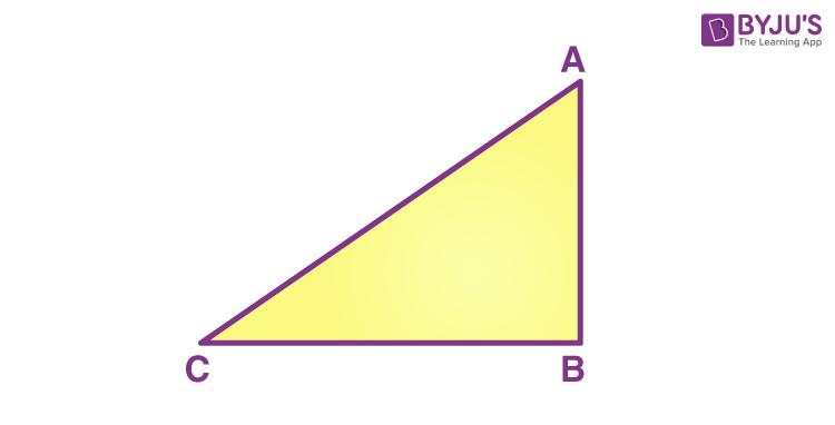 Right triangle formula - derivation