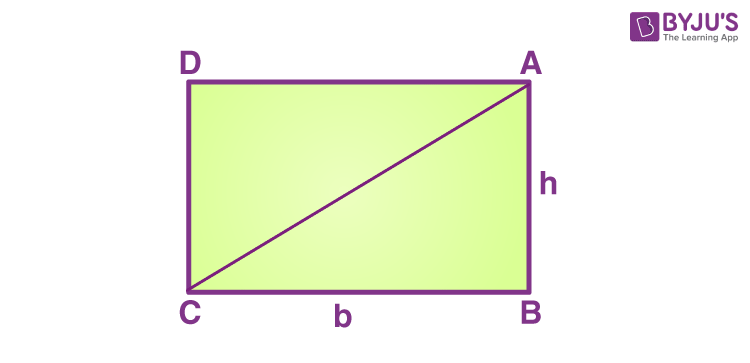Area of a right triangle - derivation