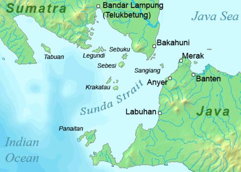 Sunda strait
