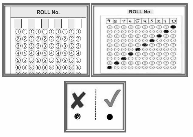 Filling OMR sheet - 2