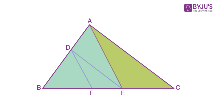 Triangles for class 10 - Example 2