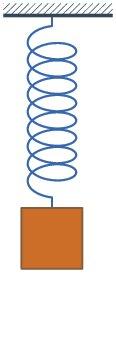 Vertical spring-mass system