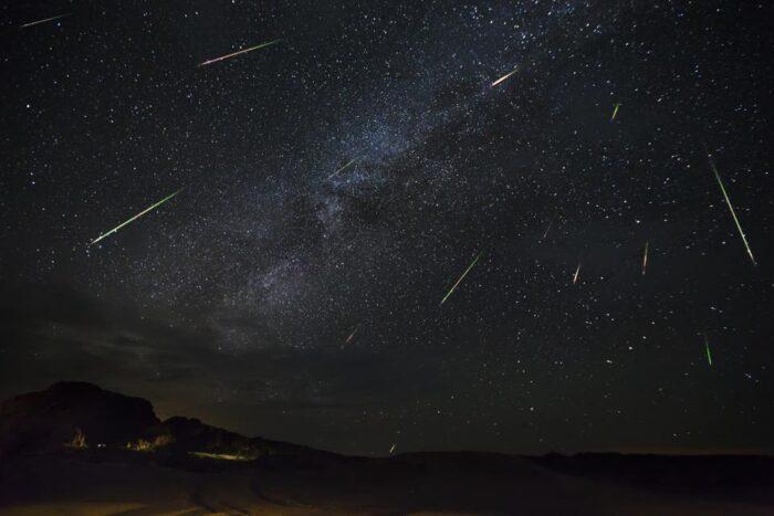 Meteor shower 2021