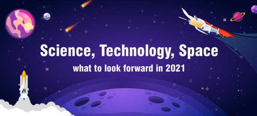 Science calendar 2021