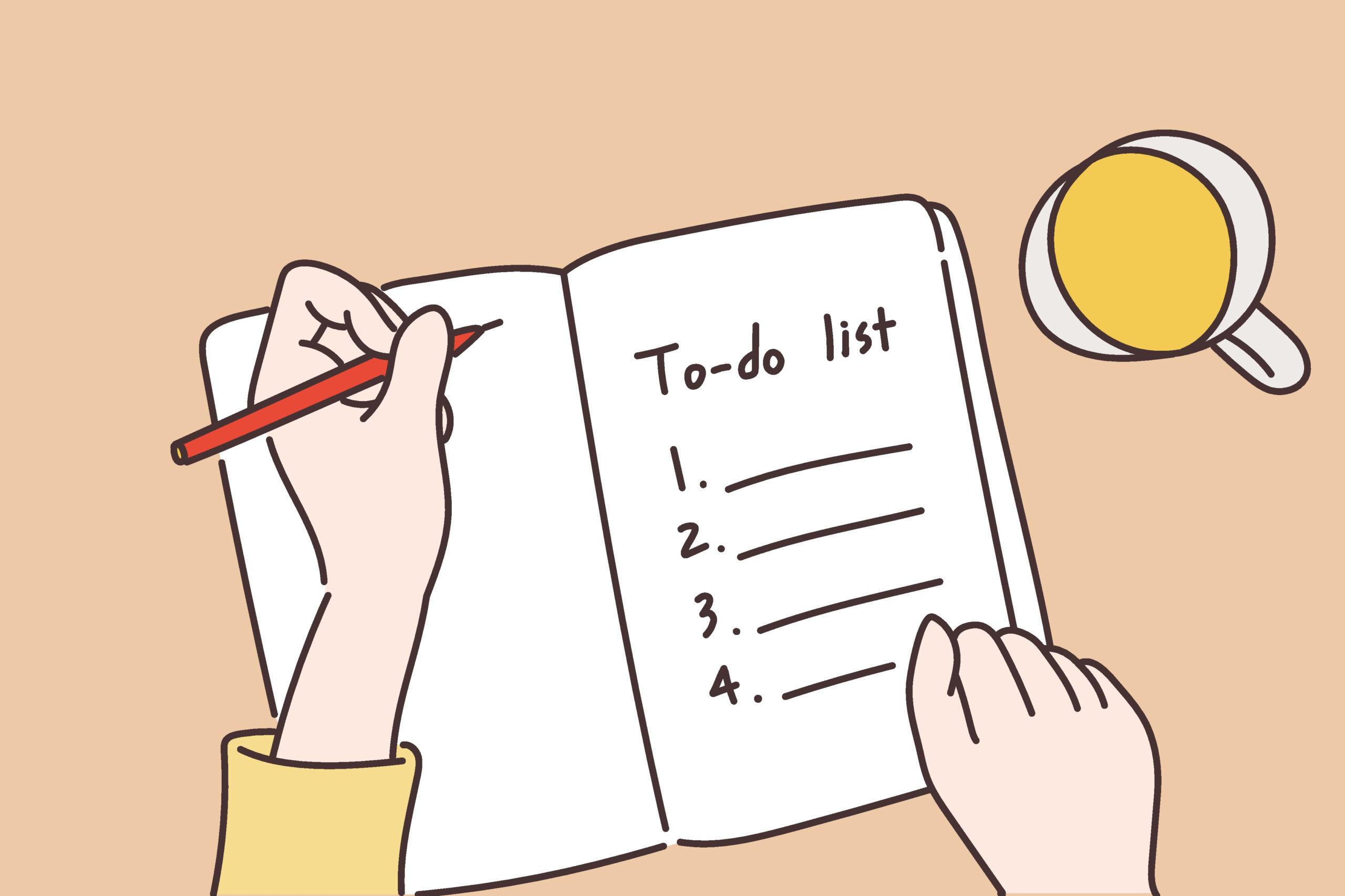 Break down your goals into tasks. Image source: Shutterstock