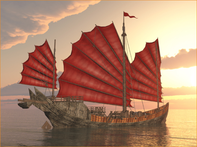 Chinese junk ships had many uses in ancient Chinese culture, including fishing, transportation, trading, warfare and the exploration of Southeast Asia. Along with its innovative rudder steering system, they were built to withstand rough seas, to be easy to maneuver, and to move quickly.