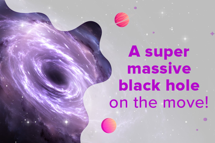 The Restless Supermassive Black Hole in a Galaxy Called J0437+2456