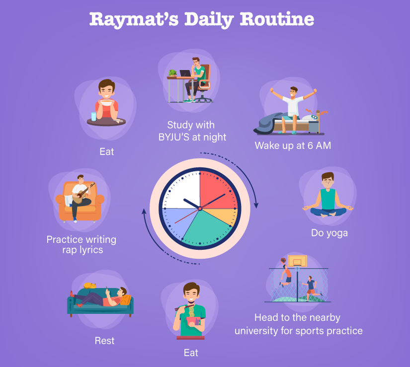 Raymat's Daily Routine